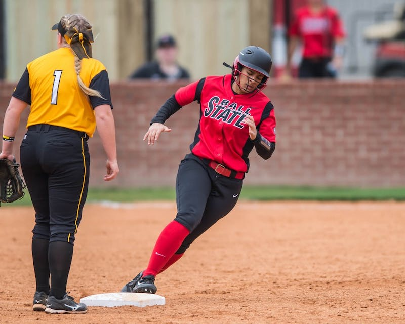 Ball State take on Southern Miss  in the 31st Annual Louisiana Softball Classic at Lamson Park on Friday February 10, 2017. PHOTO BY BUDDY DELAHOUSSAYE