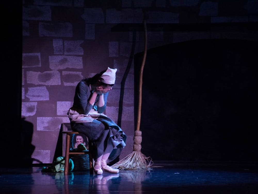 Cinderella will be played by Ball State's Dance and Theatre Department. Opening night is April 25 at 7:30 P.M.