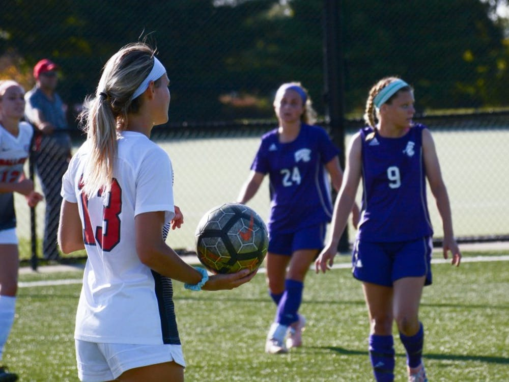Ball State won against Western Illinois 3-0 on Sept. 15 at Briner Sports Complex.