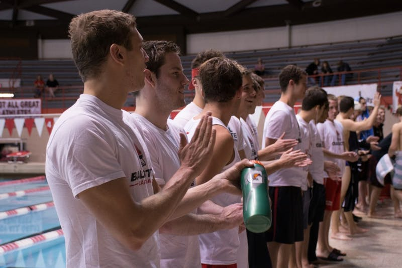 Ball State men's swimming and diving finish third at EMU Invitational