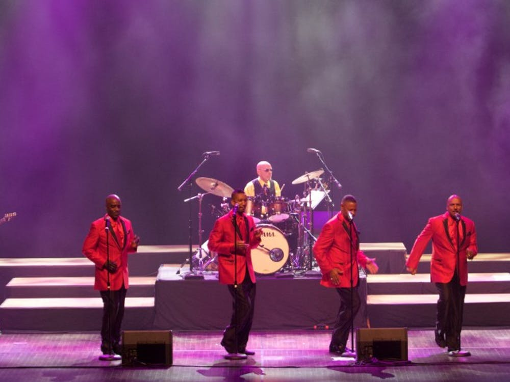 Shadows of the 60's performed Motown music on Sept. 25 at the John R. Emens Auditorium.