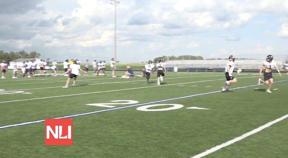 Delta High School's football team starts with a strong season