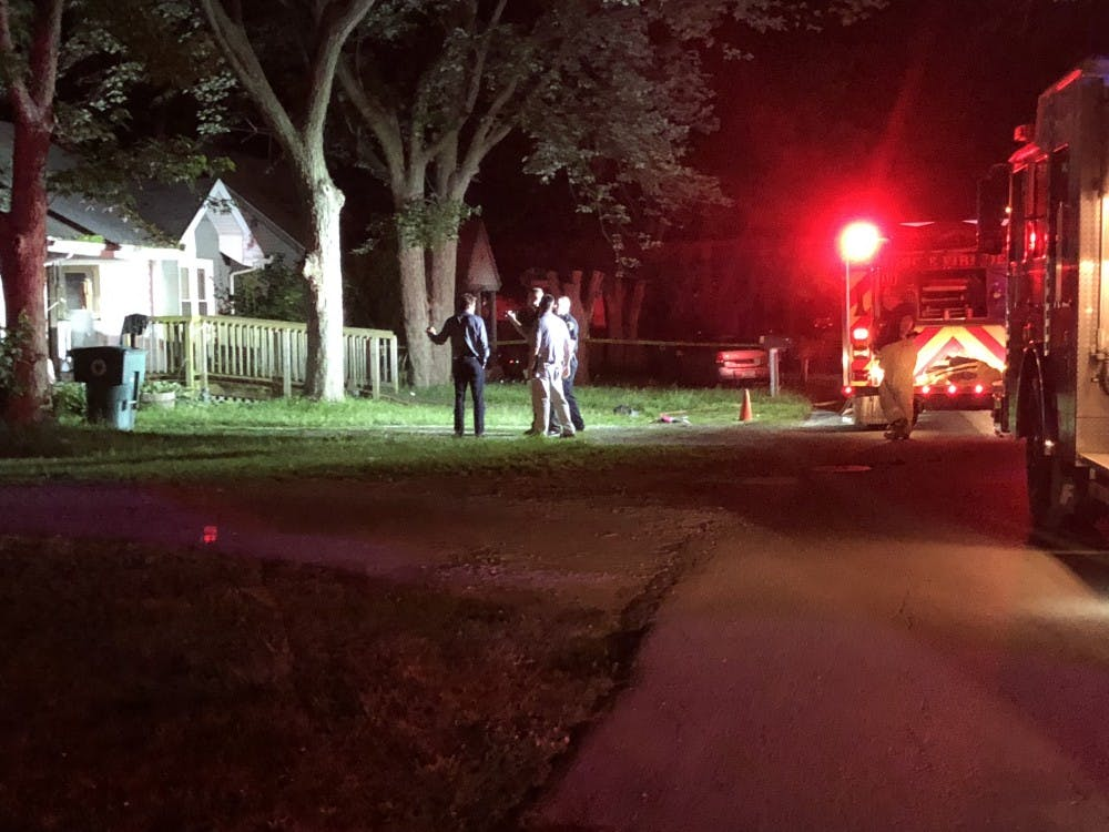 Indiana State Police are investigating after Muncie Police shot a man Friday, June 29. MPD was dispatched around 12:35 a.m. to an address in the 3600 block of North Franklin Street for a domestic situation and a house fire. Andrew Smith, DN