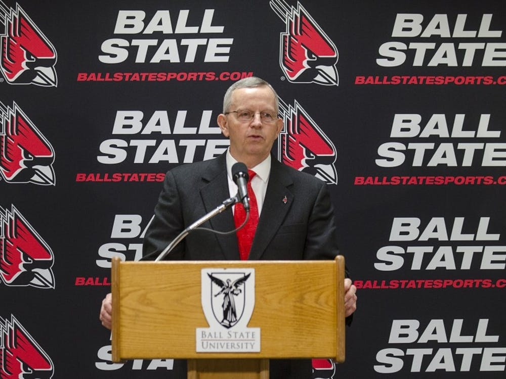 Mark Sandy was hired at Ball State after 10 years after Eastern Kentucky.