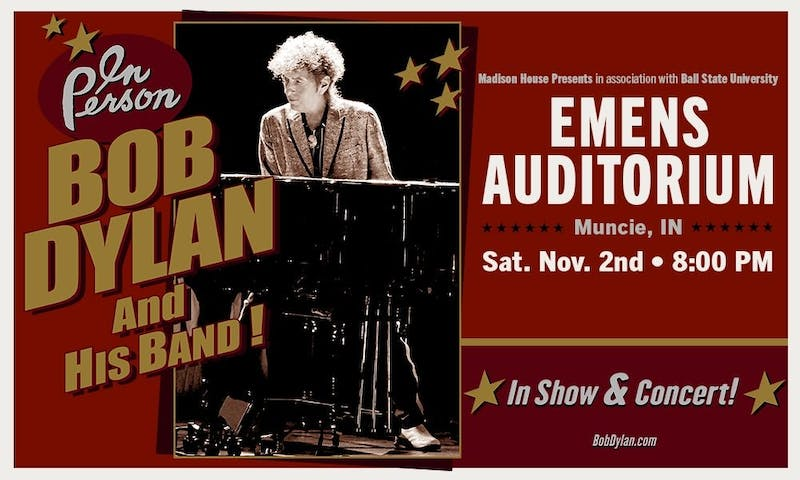 Bob Dylan and his Band at Emens Auditorium, Ball State University (11/2/2019)