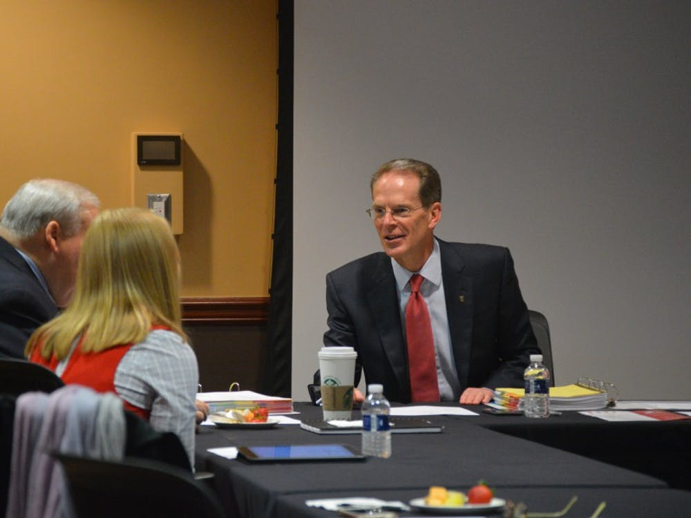 The Board of Trustees met for the first meeting of the year on Sept. 8. Allie Kirkman, DN