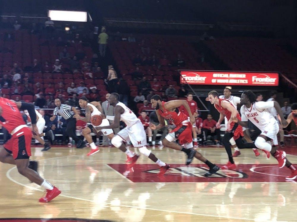 Comeback falls short for Ball State Men's Basketball in loss to Miami (Ohio)