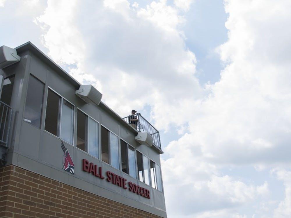 The Cardinals beat the Fort Wayne Mastodons 2-0 on Aug. 28 at Briner Sports Complex. Samantha Brammer // DN