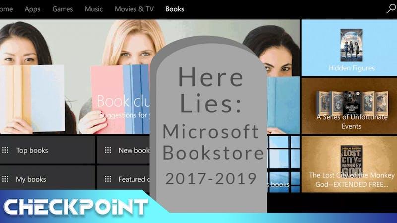 Microsoft Shelves eBooks | Checkpoint