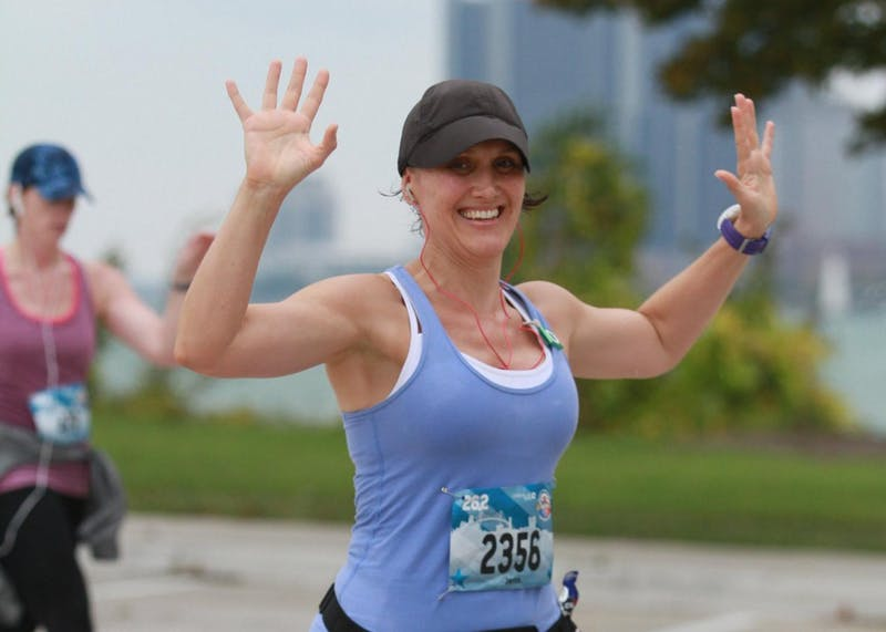 Ball State alumna prepares to run 20th marathon in Paris