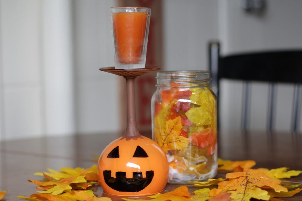 <p>Fall is finally here. Create your own pumpkin spice candle. Sabrina Schnetzer, DN</p>