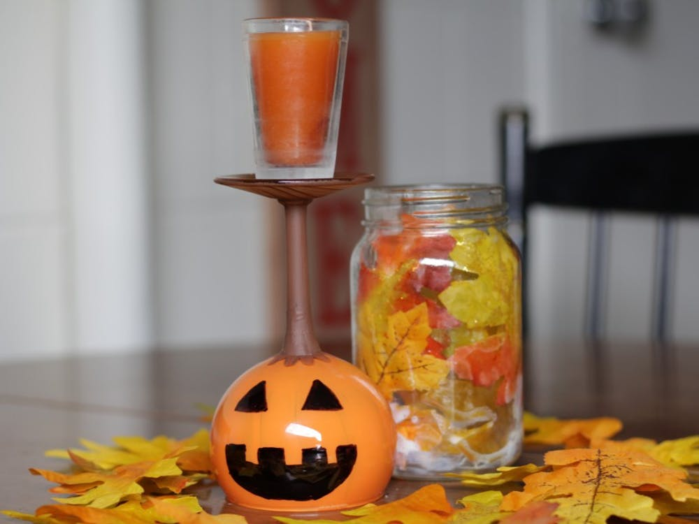 Fall is finally here. Create your own pumpkin spice candle. Sabrina Schnetzer, DN