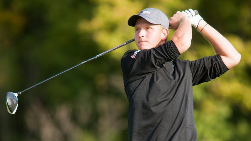 Freshman Jack Cunningham finished fourth at the ODU/OBX Intercollegiate. Cunningham is from Vincennes, Indiana. Ball Stat Athletics, Photo Courtesy