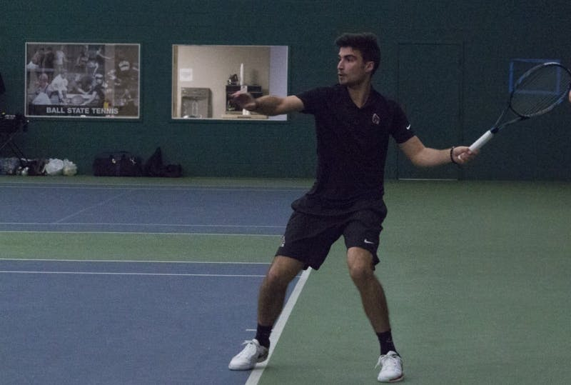 Ball State men's tennis travels to Notre Dame