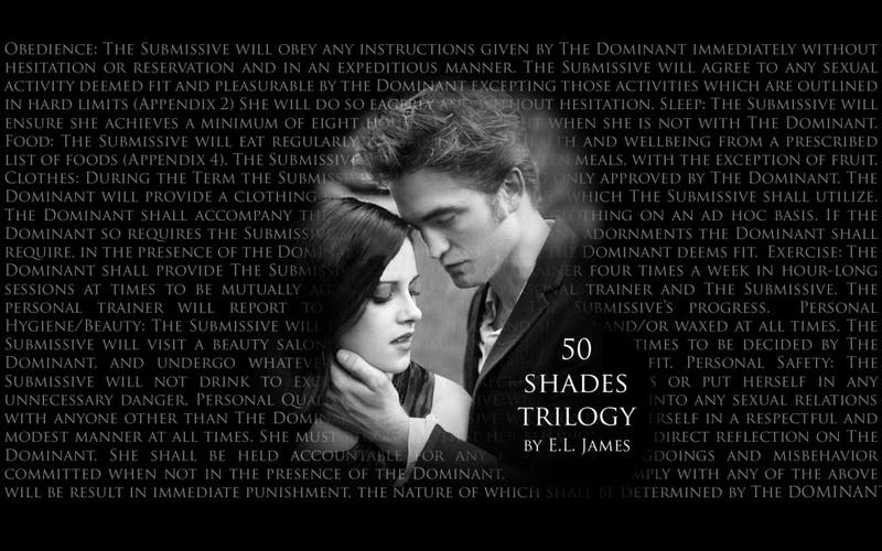The history of Fifty Shades of Grey