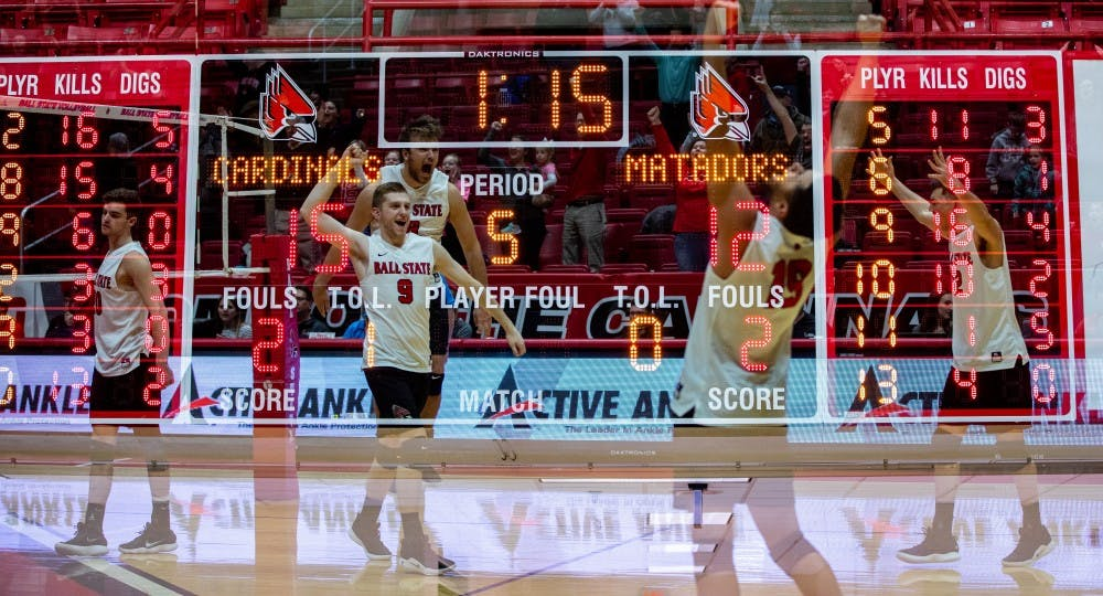 Ball State Men's Volleyball looks to regain consistency, focus