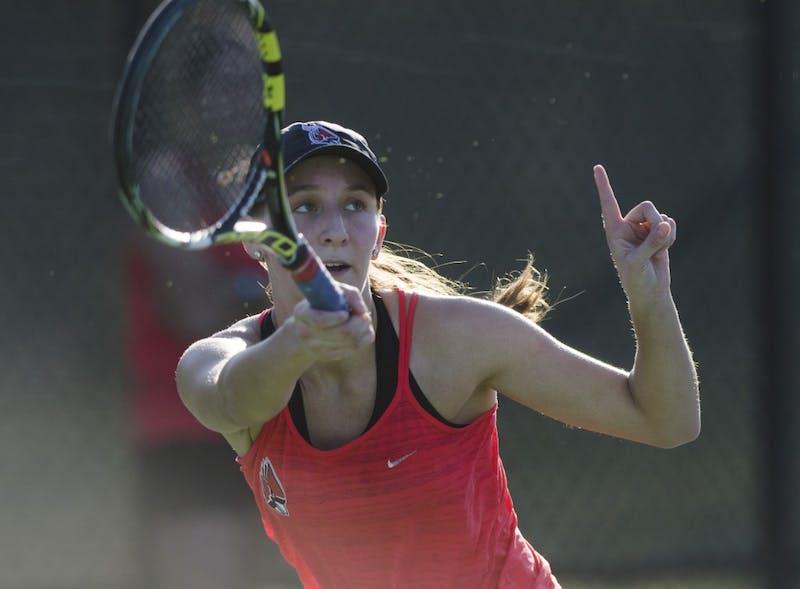 PREVIEW: Ball State women's tennis vs. Bowling Green, Buffalo