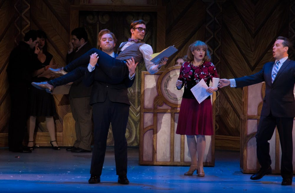 an analysis of the musical show boat in emens auditorium Venue: cook recital hall, music building, free continue reading oct 11 2018.