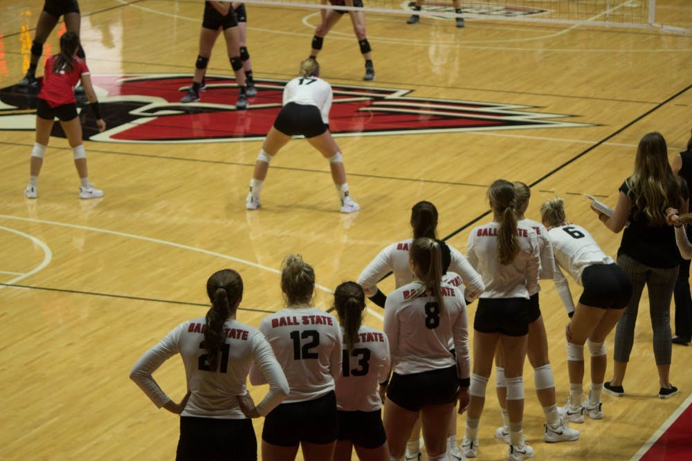 Woman's Volleyball defeats IUPUI 3-0