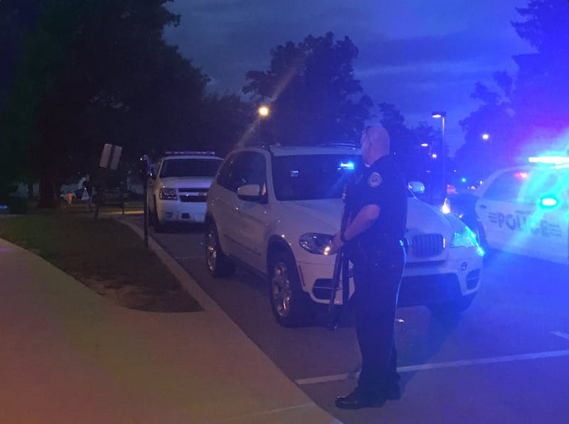 Report of gunman forces 2-hour campus lockdown