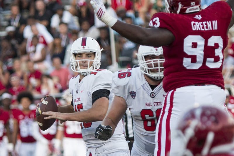 Early turnovers haunt Ball State in 30-20 loss to Indiana