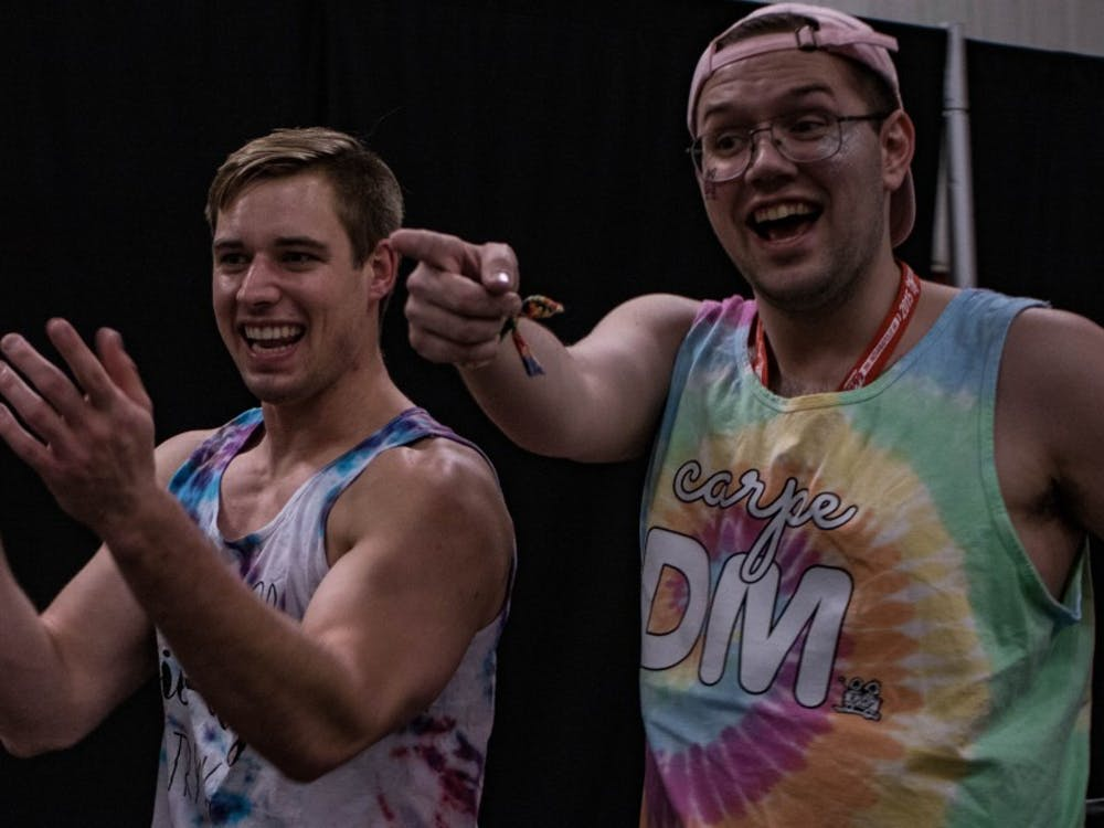 The 11th annual Ball State Dance Marathon took place Feb. 17 in the Field and Sports Building. Participants raised $653,011.23 for Riley Hospital for Children. The donations help fund the Magic Castle Cart — a program that delivers more than 20,000 gifts to patients, parents and siblings annually — and pediatric palliative care.