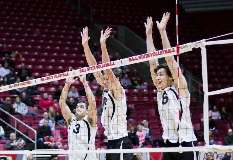 RECAP: Ball State men's volleyball vs. Sacred Heart