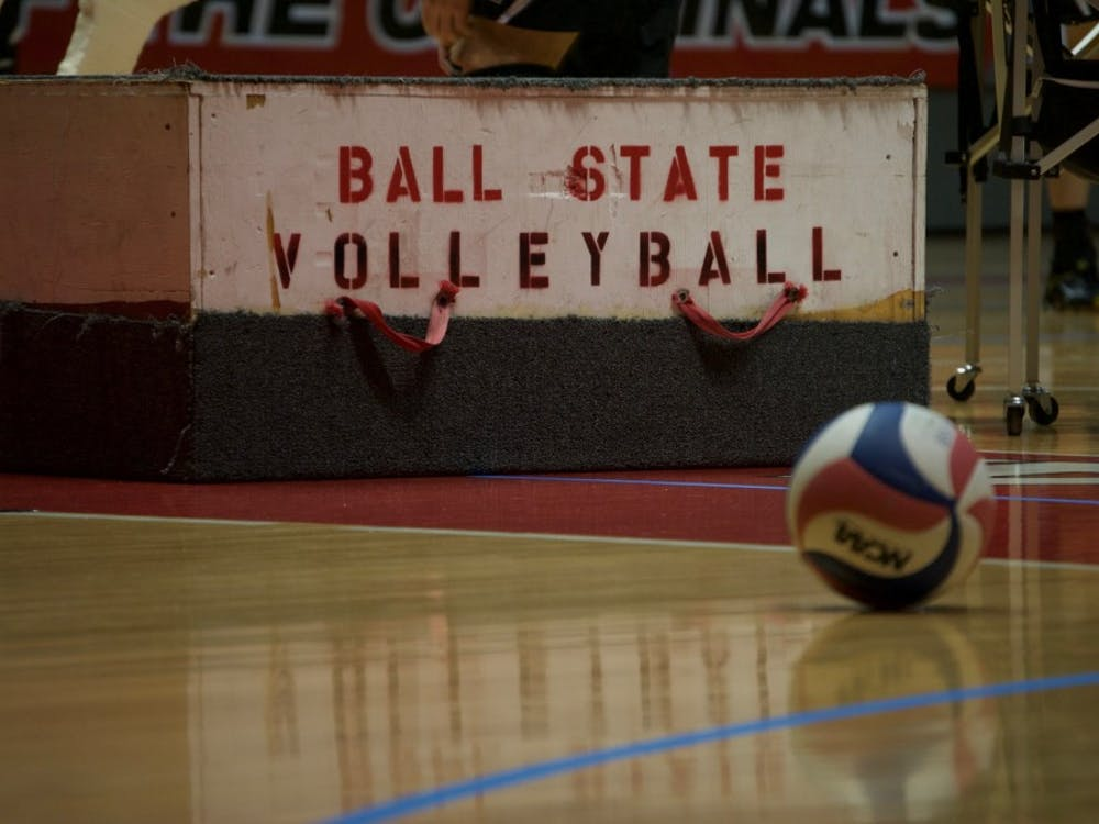 Ball State men's volleyball and the Ultimate Volleyball Club out of Chicago, Il. share a unique connection. DN PHOTO ALLISON COFFIN