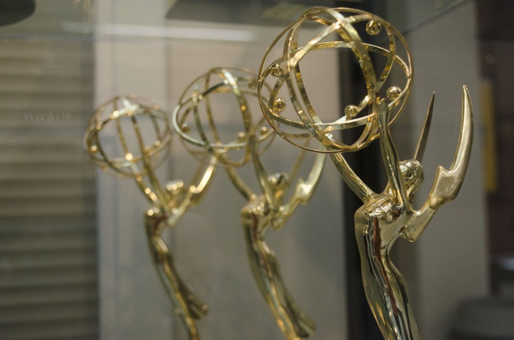 Ball State received four regional Emmy awards June 15, 2019. Members from Sports Link and WIPB took home the awards. Breanna Daugherty, DN File
