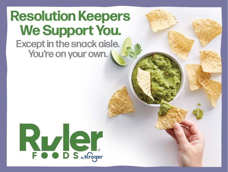Whether your New Year's resolution is to eat better or save money, Ruler Foods has you covered.