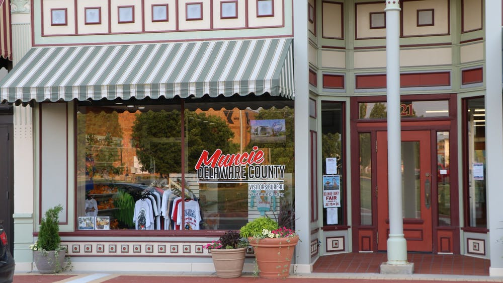 <p>The Muncie Visitors Bureau is located in downtown Muncie. For Muncie merchandise, brochures and community calendars, visitors can stop by during the business hours of Monday through Friday 8:30 a.m. – 4:30 p.m. <strong>Clayton McMahan, DN</strong></p>