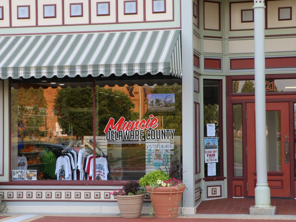 The Muncie Visitors Bureau is located in downtown Muncie. For Muncie merchandise, brochures and community calendars, visitors can stop by during the business hours of Monday through Friday 8:30 a.m. – 4:30 p.m. Clayton McMahan, DN