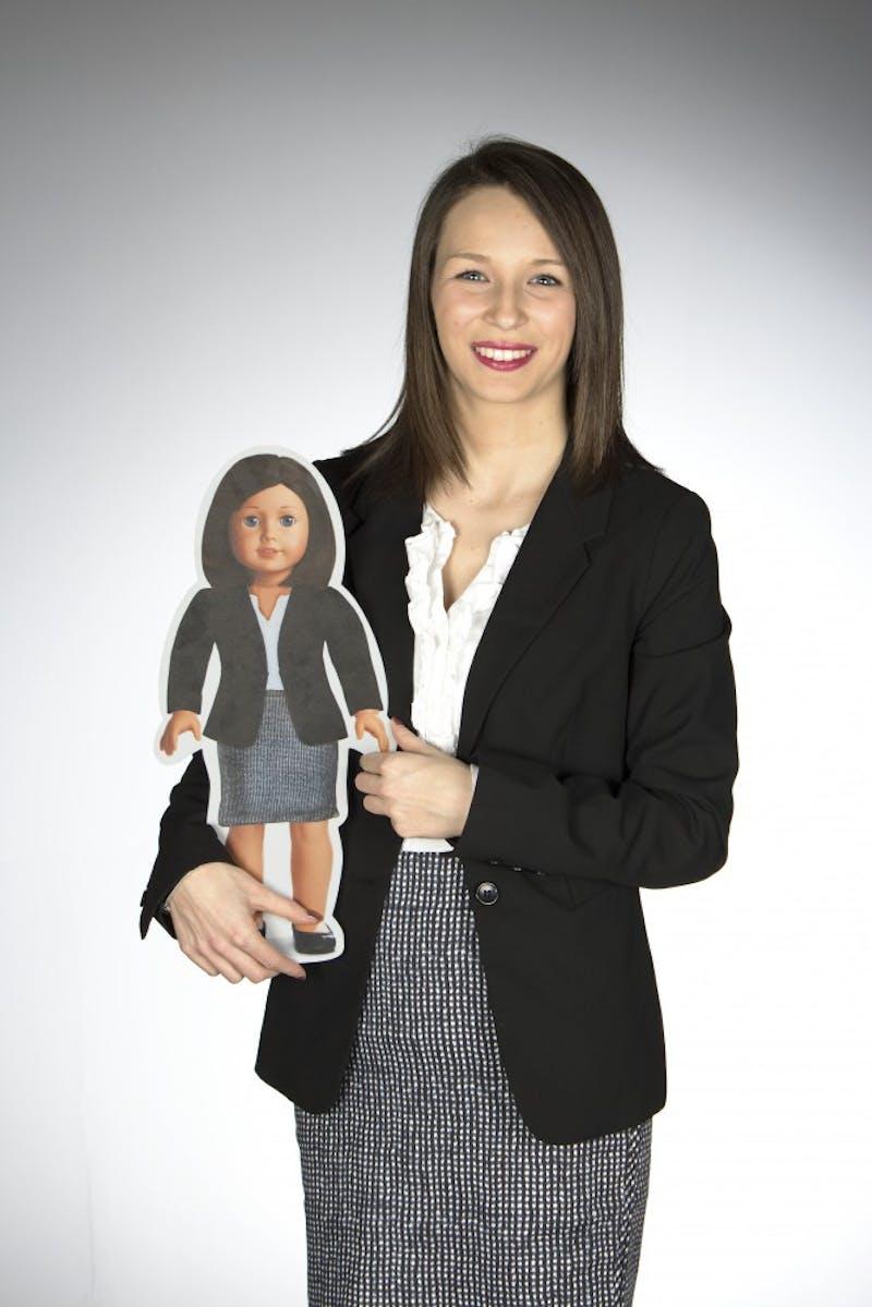 Student creates campaign, creative résumé for American Girl
