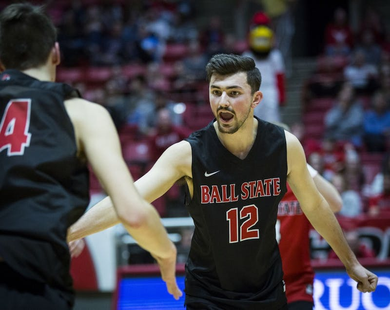 Ball State men's volleyball looks to get back on track at No. 9 Penn State, Saint Francis