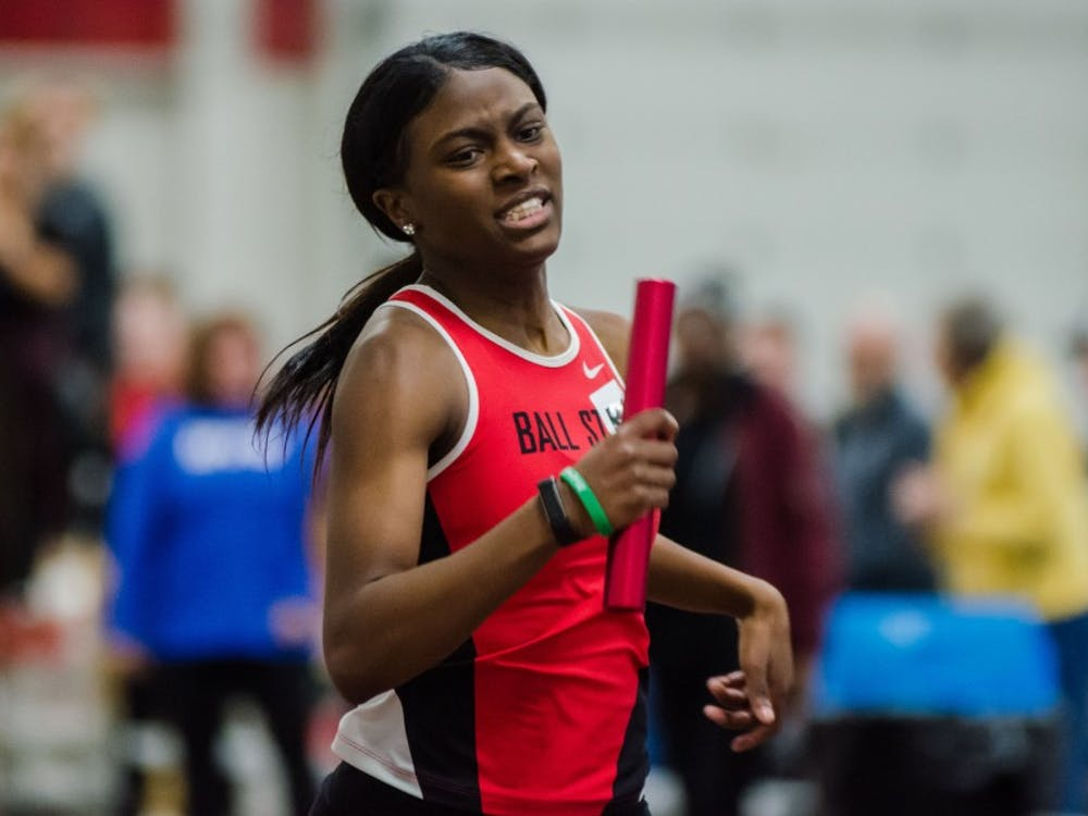 The Cardinals competed in the Ball State Tune-Up, one of two home meets, on Feb. 16 at the Field Sports building. They got 2 dual wins and 3 event victories.