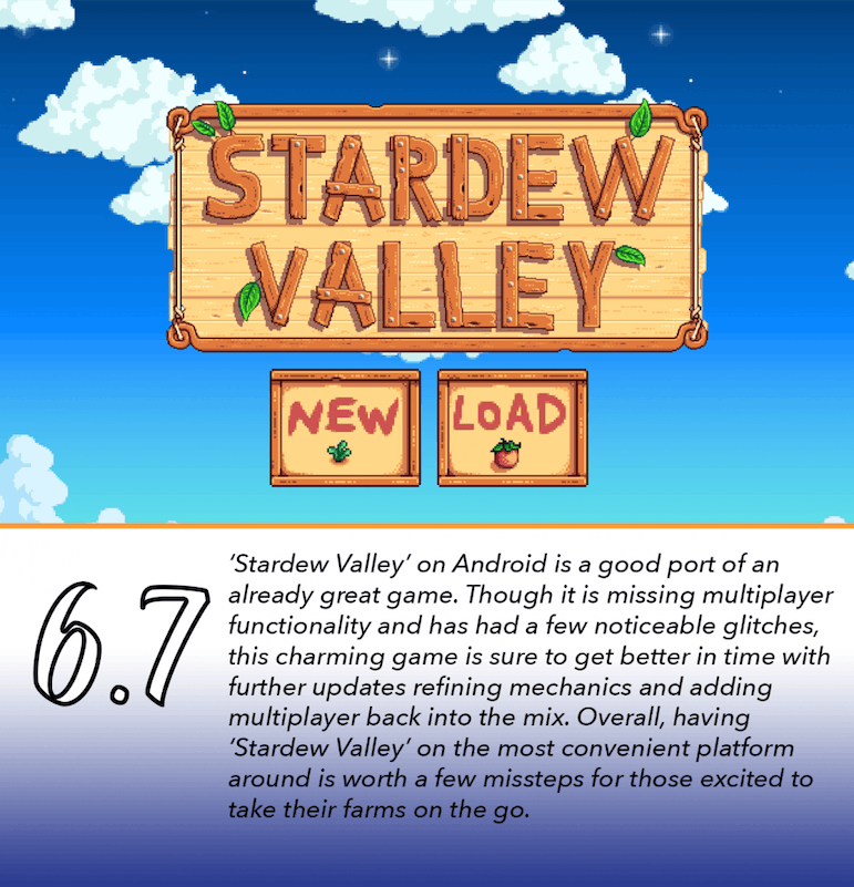 The peaks and 'Stardew Valley's of Android releases | Ball State Daily