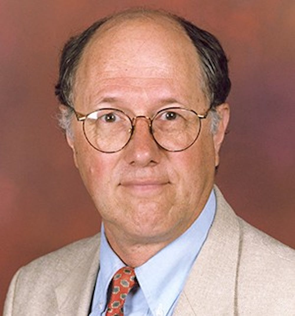 <p>George Wolfe, formerly the director of the Center for Peace and Conflict Studies, will serve as the Green party's candidate for Secretary of State in the November 2018 elections. <strong>Photo courtesy Ball State website</strong></p>