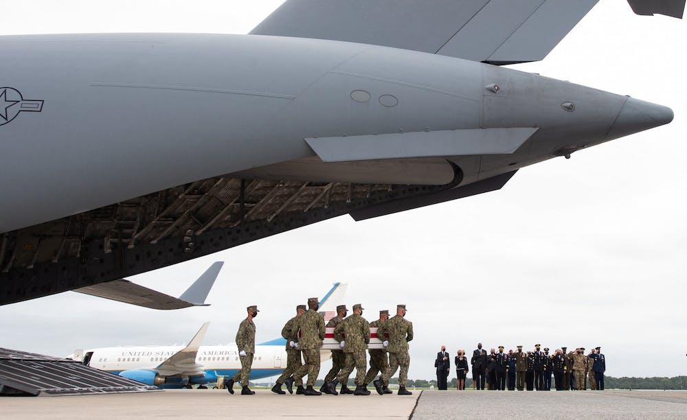 Taliban guard says last US planes have flown out of Kabul