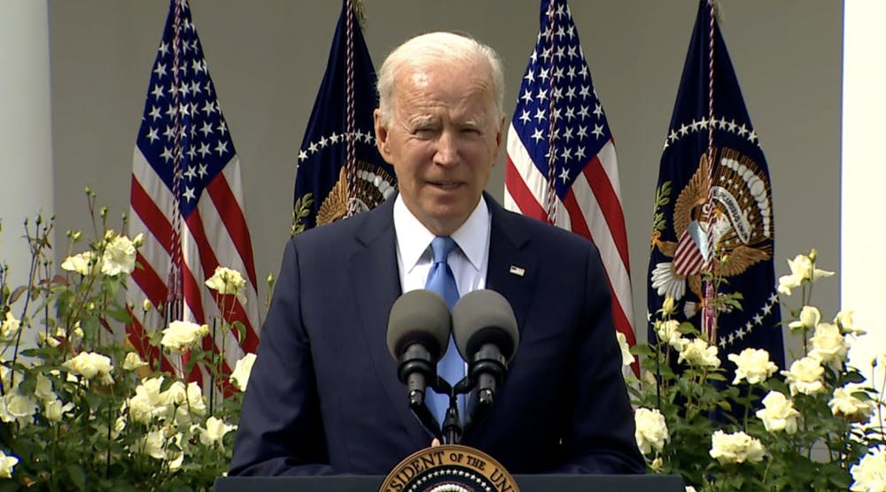 President Biden talks new CDC mask guidelines for fully vaccinated people