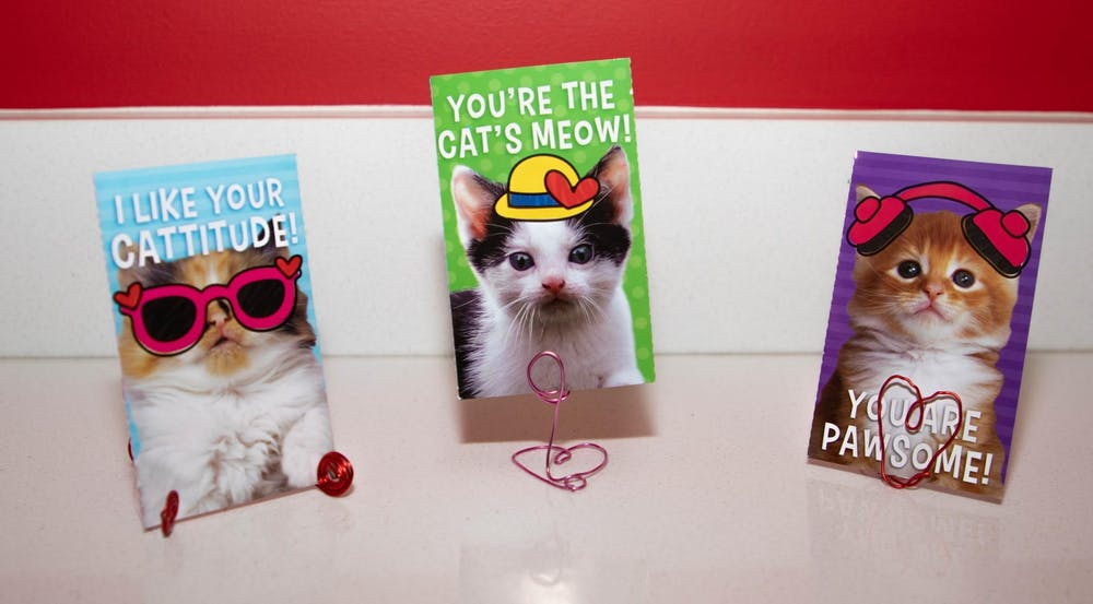 Do-it-yourself ways to display your Valentine's Day cards