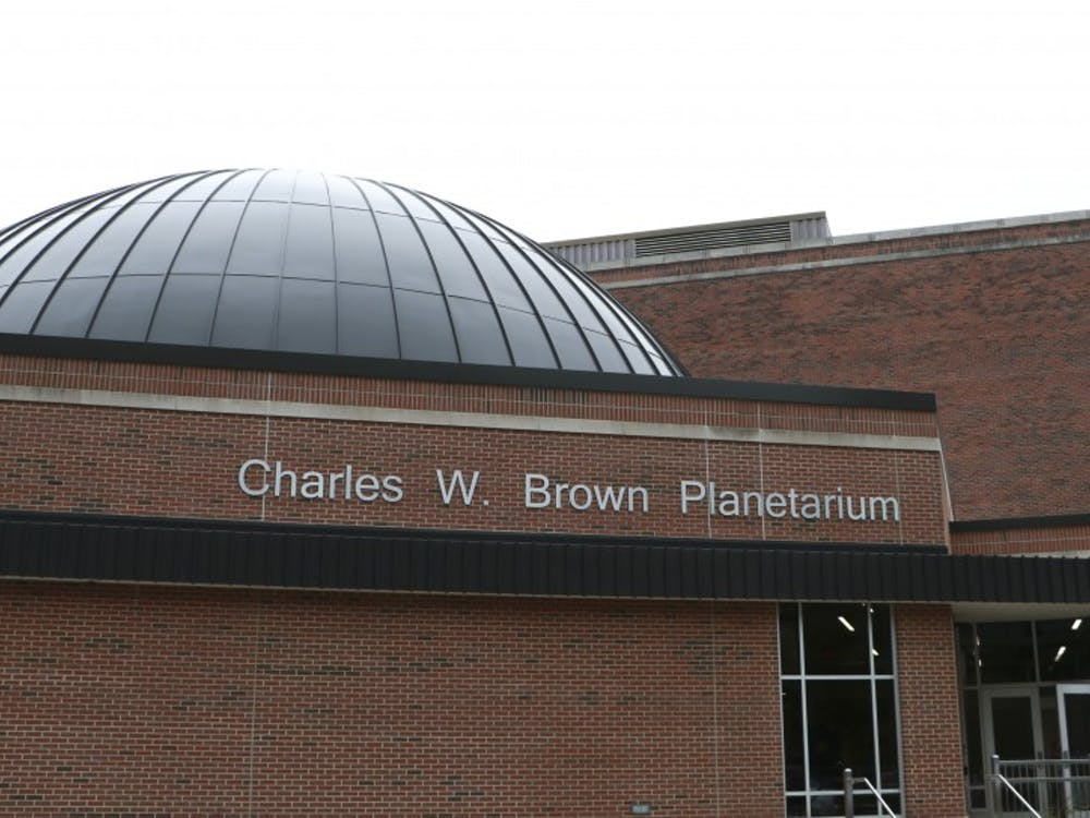 The Charles W. Brown Planetarium has an immersive theater where the planetarium's staff can project the night sky onto its 52-foot dome. The planetarium will host five free shows throughout the spring semester. Jacob Musselman, DN