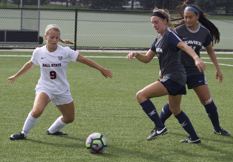 Ball State soccer looks to improve on scoring chances for rest of season