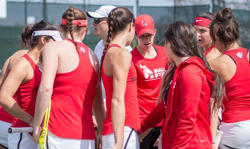 RECAP: Ball State women's tennis vs. Miami