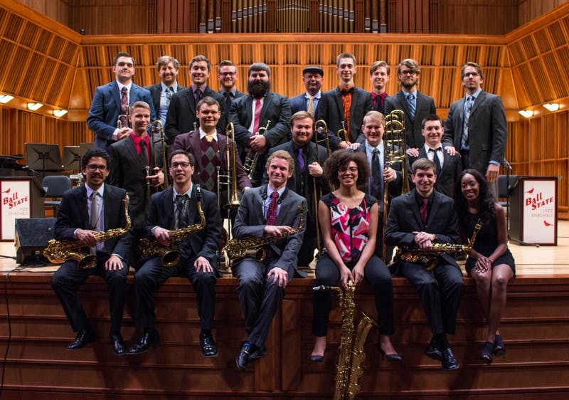 Ball State Jazz Lab Ensemble will travel to Switzerland this summer to perform at the Montreux Jazz Festival. The festival is one of the largest and most prestigious jazz festivals in the world. Grace Ramey // DN