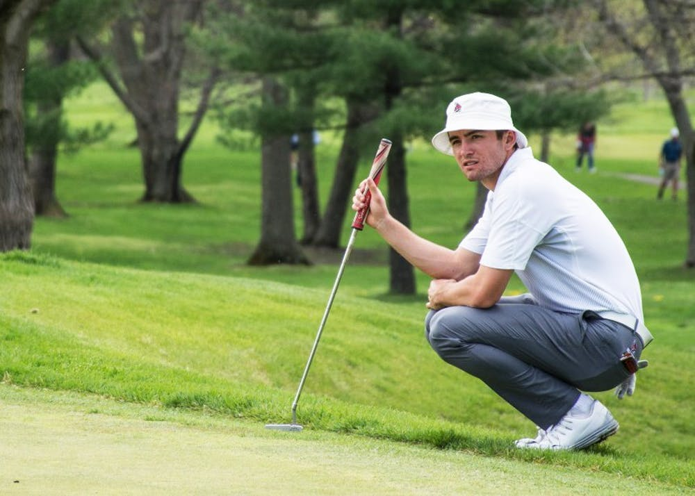 <p>Timothy Wiseman, member of the men's golf team, finished up his junior year at Ball State. He qualified for the 118th U.S Open, making him the first Cardinal to be in the tournament as a college student. <strong>Kaiti Sullivan, DN File</strong></p>