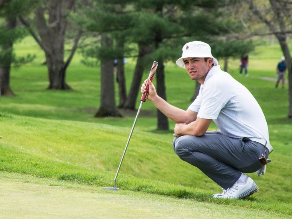 Timothy Wiseman, member of the men's golf team, finished up his junior year at Ball State. He qualified for the 118th U.S Open, making him the first Cardinal to be in the tournament as a college student. Kaiti Sullivan, DN File