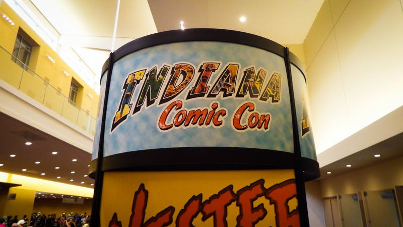 The faces of Indiana Comic Con 2018