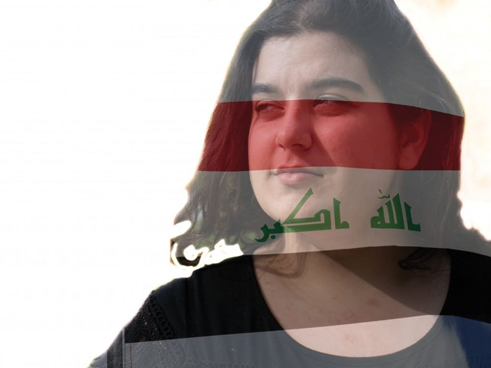 Elena's mother is from Iraq and during 9/11 she reflects on how her family is affected by it even years later. Jacob Musselman, DN; Elliot DeRose DN Illustration