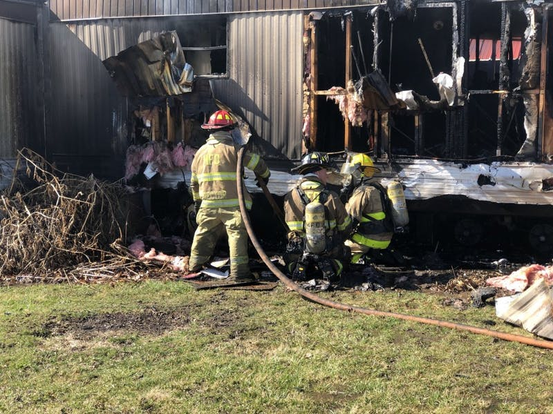 MFD responds to structure fire on East Ashwood Drive