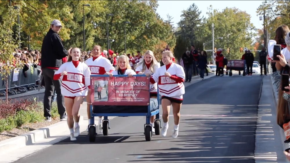 VIDEO: Bed Race 2019